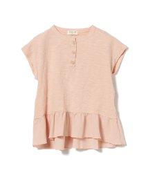 こどもビームス/PLAY UP / 裾フリル ショートスリーブ Tシャツ 20(3~10才)/503277263