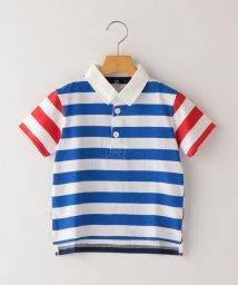 SHIPS KIDS/SHIPS KIDS:ボーダー ラガー シャツ(100~130cm)/503277601