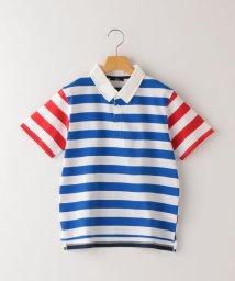 SHIPS KIDS/SHIPS KIDS:ボーダー ラガー シャツ(145~160cm)/503277602