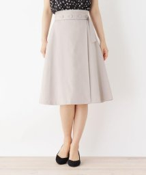 index/【洗える・42(LL)WEB限定サイズ】ボタンベルト風Aラインスカート/503277621