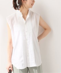 Spick & Span/【LAQUINTANE】 スリーブレスタキシードシャツ/503277954