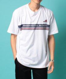 MARUKAWA/【CONVERSE】コンバース 大きいサイズ パネルボーダー 半袖Tシャツ/503200679