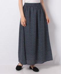 Te chichi/【Lugnoncure】マルチカラー小花柄ギャザースカート/503249142