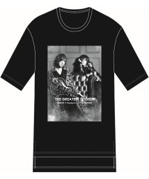 "ys Yuji SUGENO/FIFTY FIFTY (フィフティフィフティ)""SUGIZO×清春"" Special Session Hem Step Big Tee/503251057"