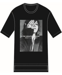 "ys Yuji SUGENO/FIFTY FIFTY (フィフティフィフティ)""SUGIZO"" Special Session Print Hem Step Big Tee/503251058"