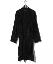 ys Yuji SUGENO/Cut Jacquard Striped Long Shirt Gown/503251061