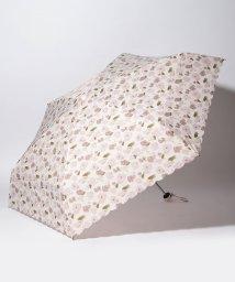 Afternoon Tea LIVING/フラワー柄晴雨兼用5段折りたたみ傘 雨傘/503251662