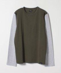 agnes b. HOMME/JF59 TS バイカラーTシャツ/503264667