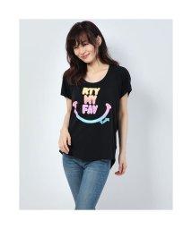 RUSTY/ラスティ RUSTY ハンソデ UVTシャツ (BLK)/503268463