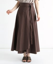 LASUD/[RADIATE] 【手洗い可】フレアラップスカート/503270807