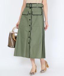 SCOTCLUB/GRANDTABLE(グランターブル) パイピングデザイントラペーズスカート/503270830