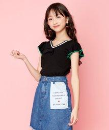 JENNI love/クール袖フリル2wayニット/503275939