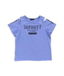 JENNI love/肩開きロゴTシャツ/503275945
