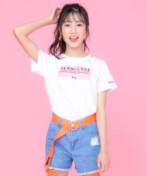 JENNI love/衿スリットボックスロゴTシャツ/503275947