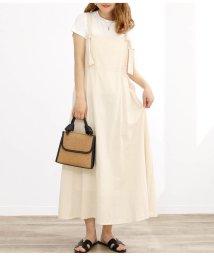 CHILLE/ショルダーリボンデザインジャンパースカート/503278167