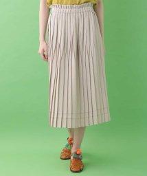 Jocomomola/変形プリーツデザインスカート/503278271