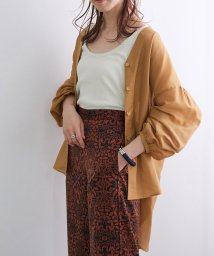 ROPE' mademoiselle/ブライトシアーチュニックシャツ/503278521