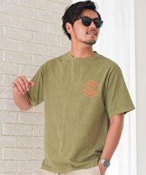 CavariA/CavariA【キャバリア】ピグメントプリントTシャツ/503279825
