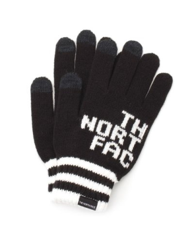【THE NORTH FACE】BIG LOGO E-KNIT GLOVE