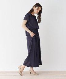 SHOO・LA・RUE DRESKIP/【M-LL】楊柳セパレートオールインワン/503280812