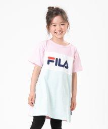 FILA/FILA/フィラ 3段切替半袖ワンピース/503280852