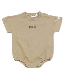FILA/FILA/フィラ ロゴ半袖ロンパース/503280854