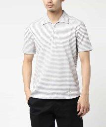 MICHEL KLEIN HOMME/ポロシャツ(カノコボーダー)/502293203