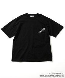 nano・universe/《WEB限定》MARVEL×KANGOL ロゴBIG Tシャツ/503105801