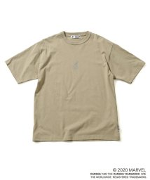 nano・universe/《WEB限定》MARVEL×KANGOL ロゴアイコンTシャツ/503105802