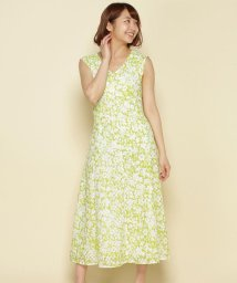 And Couture/【andGIRL5月号掲載】シェルレースフラワープリントワンピース/503129254