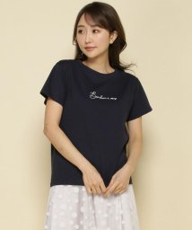 And Couture/Bonheur a vous 刺繍ロゴTシャツ/503129303