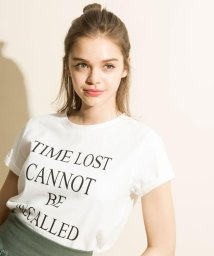 And Couture/TIMELOSTロゴTシャツ/503158467