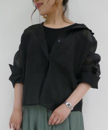 And Couture/抜け襟シアーシャツ/503179137