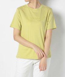 en recre/【Brahmin】ワンポイント立体ロゴTシャツ/503260328