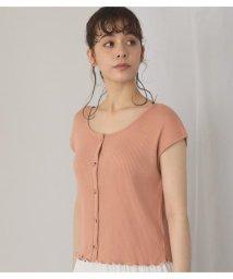 Avan Lily/フロントボタン裾メロウトップス/503281818