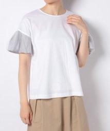 en recre/切替えデザインTシャツ/502995260