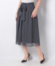 LA JOCONDE/【セットアップ対応】シフォンプリントスカート/503072055