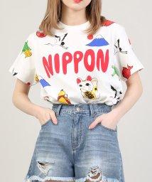 PUNYUS/NIPPON総柄Tシャツ/503194796