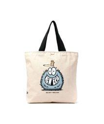 NEW ERA/【正規取扱店】ニューエラ バッグ NEW ERA トートバッグ 大きめ Canvas Tote Bag B4 A4 ケヴィン ライオンズ コラボ/503280169