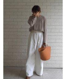 ETRE'TOKYO/コットンストレッチイージーパンツ/503283015