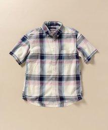 SHIPS MEN/SC: ペルヴィアン ピマ チェック ショートスリーブシャツ/503283343