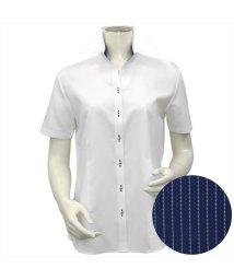 BRICKHOUSE/ワイシャツ 半袖 形態安定 スキッパー衿 COOLMAX(R)/503283869