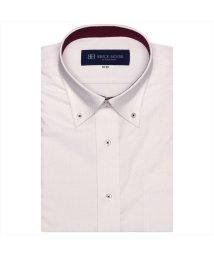 BRICKHOUSE/ワイシャツ 半袖 形態安定 ボットーニ BD 再生ポリ Just Style/503283874