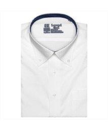 BRICKHOUSE/ワイシャツ 半袖 形態安定 レイヤードクール ボタンダウン JustStyle/503283876