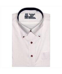 BRICKHOUSE/ワイシャツ 半袖 形態安定 レイヤードクール ボタンダウン JustStyle/503283891