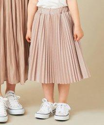 anyFAM(KIDS)/【S-Mサイズ】ラメジャージー プリーツスカート/503283945