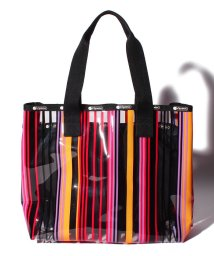 LeSportsac/MED CLEAR 2 IN 1 TOTE レディアントキーズ/LS0024036