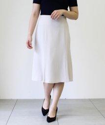 Mew's/洗える麻調ハギスカート/503081938