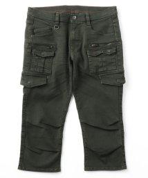 HIDEAWAYS NICOLE/6分丈多ポケットカーゴパンツ/503197918