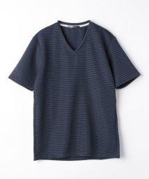 HIDEAWAYS NICOLE/ブライトタックボ-ダ-VネックTシャツ/503197922
